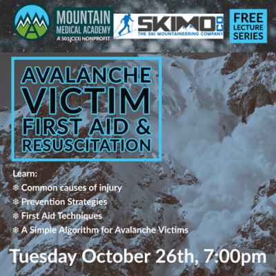 Event: Avalanche Victim First Aid