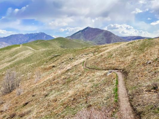 Early Season Central Wasatch Peaks