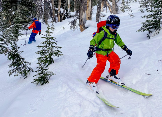 Backcountry Skiing with the Family