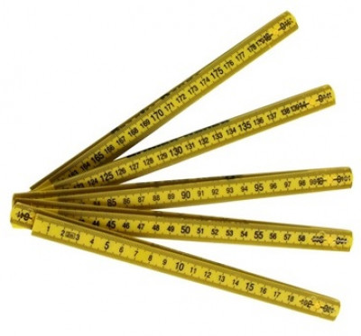 Brooks-Range Folding Ruler