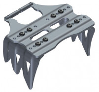 Kreuzspitze Adjustable Ski Crampons