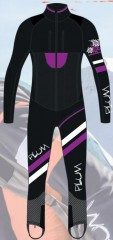 Plum Race Suit - Women