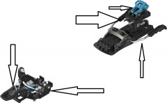 Salomon & Atomic Binding Parts