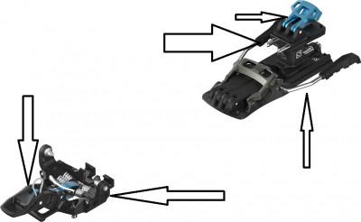 Salomon & Atomic Binding Parts