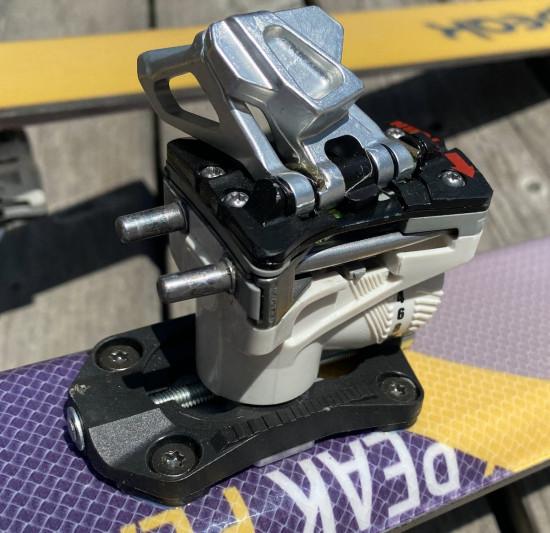 Dynafit Superlite Brake Stopper 105mm Breite 105mm